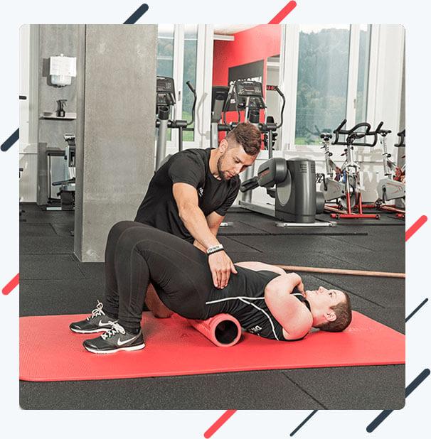 Training gegen Rückenschmerzen