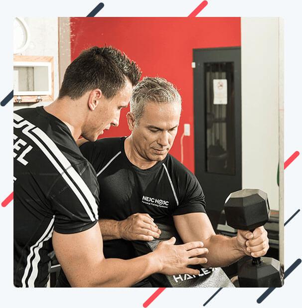 Muskelaufbau der Armmuskulatur