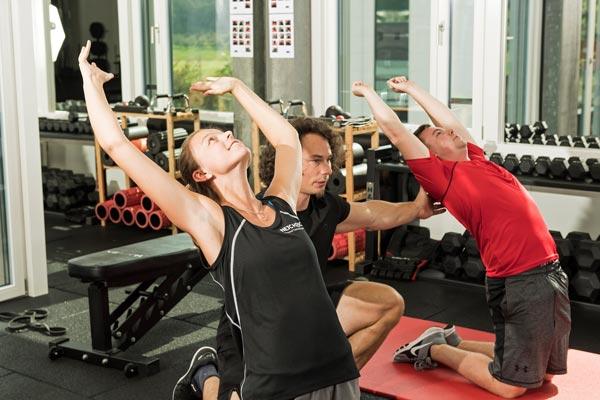 Rückenschmerzen Übungen für Quadriceps und Hüftbeugermobilität