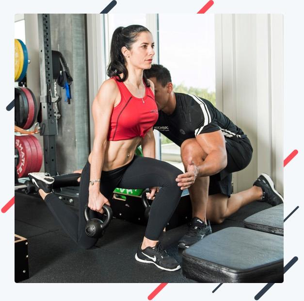 Training für definierte Beine