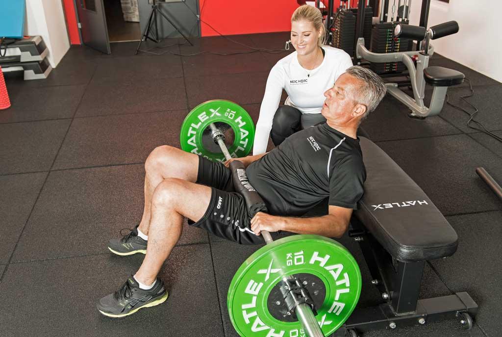 Hip Thrusts Übung für die Hüfte