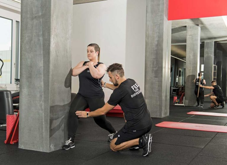 Split Squats Knieschmerzen Übungen